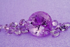 Amethysts Royalty Free Stock Image