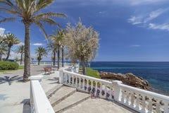 Ametlla de marzo, Costa Daurada, Spagna immagine stock