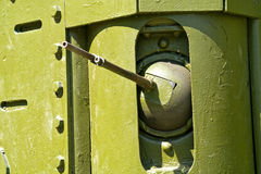 Ametralladora del tanque histórico Fotografía de archivo libre de regalías
