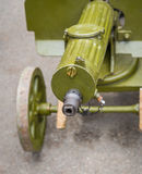 Ametralladora vieja Imagenes de archivo