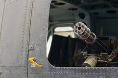 Ametralladora vieja de la guerra de Vietnam Fotografía de archivo libre de regalías