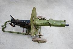 Ametralladora vieja del vintage, el sistema de la máxima Arma de la máxima Fotografía de archivo