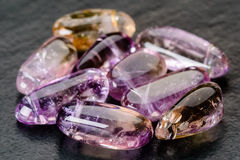 Ametrine Royalty Free Stock Photo