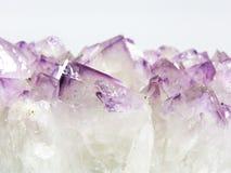 Ametysta Rockowy Gemstone Brazylia Zdjęcia Royalty Free
