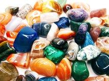 Ametystowego kwarcowego garnet jaspisowego agata kryształów geological collecti Obrazy Royalty Free