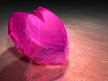 ametystowy gemstone Zdjęcie Royalty Free