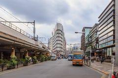 Ameya Yokocho est zone d'atelier célèbre de secteur d'Ueno, Tokyo Images libres de droits