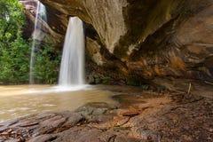 Amezing waterfall : Sang Chan Waterfall,Ubon Ratchathani Thailand royalty free stock images