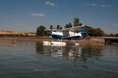 amfibia samolot Obrazy Stock