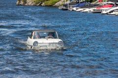 Amfibie auto Stock Afbeeldingen