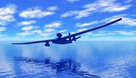 amfibisk glidflygplanstråle Arkivbild