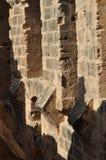 Amfiteater av El Jem Royaltyfri Bild