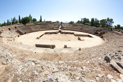 Amfiteater av Merida Royaltyfri Foto