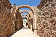 Amfiteater av Merida Arkivfoto