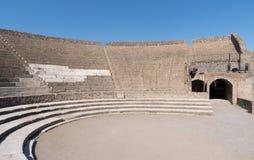 Amfiteater av Pompeii royaltyfria foton