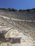 Amfiteater Ephesus IZMIR/TURKEY royaltyfri bild
