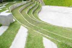 Amfiteater och utomhus- etapp Royaltyfri Bild