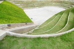 Amfiteater och utomhus- etapp Fotografering för Bildbyråer