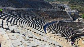 Amfiteater på ephesusen stock video