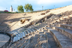 Amfiteater Tunisien Royaltyfria Bilder