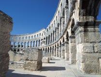 amfiteaterpula royaltyfria foton