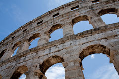 amfiteatrów pula Zdjęcia Royalty Free