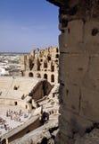 amfiteatr rzymski Tunisia Zdjęcie Stock