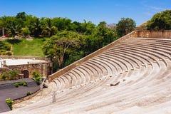 Amfiteatr w antycznej wiosce Alt De Chavon - Obraz Royalty Free
