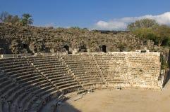 Amfiteatr w Beit Shean, Izrael obrazy stock