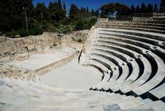 Amfiteatr w Kos Fotografia Stock