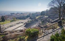 Amfiteatr w Lion Francja zdjęcie royalty free