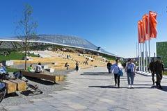 Amfiteatr w Zaryadie parku Obraz Royalty Free