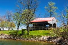 Amfiteatru †'Smith stanu Halny Jeziorny park, Virginia, usa Fotografia Royalty Free