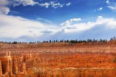 Amfiteatru Bryka punktu Bryka jaru park narodowy Utah Obraz Stock