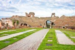 amfiteatru capua Maria Santa vetere fotografia royalty free