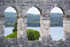 amfiteatru Croatia pula Obraz Stock