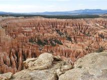 Amfitheater, Ongeluksboden Bryce Canyon National Park, Utah, de V.S. stock foto