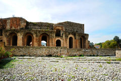 Amfitheater van Benevento Royalty-vrije Stock Fotografie