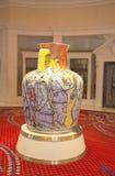 Amfora av Viola Frey på Wynn Esplanade på Wynn Hotel och kasinot Fotografering för Bildbyråer