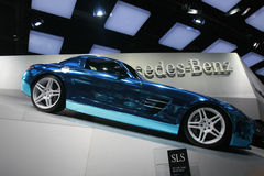Amg 2012 degli sls di Mercedes Fotografia Stock