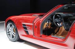 Amg degli sls del benz di Mercedes Fotografia Stock Libera da Diritti