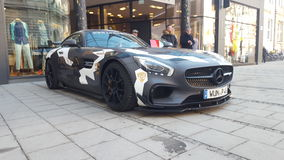 AMG GTs by LionsRun. Amg gts beast Royalty Free Stock Photos
