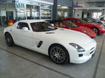 amg Mercedes sls Obrazy Stock