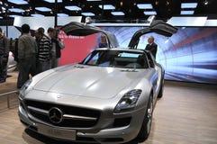 amg Mercedes sls Στοκ φωτογραφία με δικαίωμα ελεύθερης χρήσης