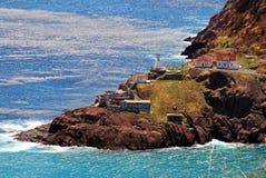 amherst fort newfoundland arkivfoto