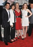 Ami Adams, Chris Messine, Meryl Streep, Nora Ephron Photographie stock libre de droits