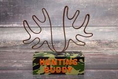 Ami de chasse Photo stock