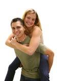 Ami et amie Image libre de droits