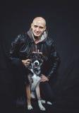 Ami fidèle de chien Photos stock