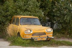 Ami gialli di Citroen Immagine Stock